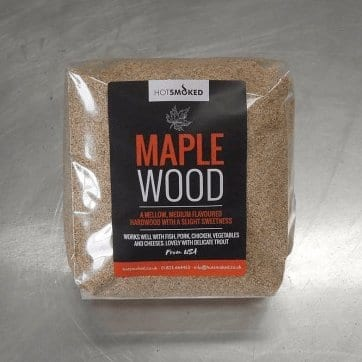 Maple Wood Dust By Hot Smoked