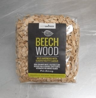 Beech Wood Chips by Hot Smoked