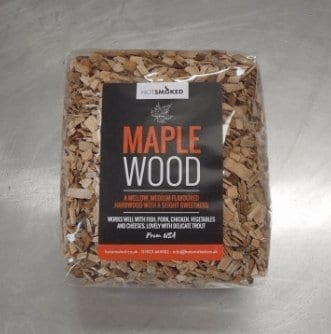 Maple Wood Chips by Hot Smoked