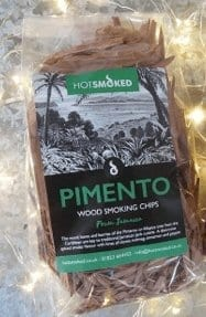Pimento Wood Chips by Hot Smoked