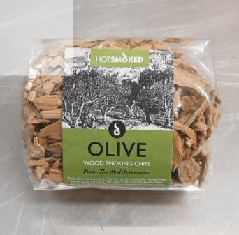 Olive Wood Chips by Hot Smoked