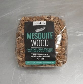 Mesquite Wood Chips by Hot Smoked