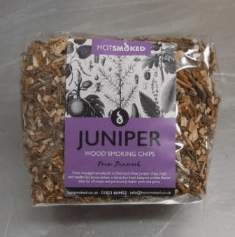 Juniper Wood Chips by Hot Smoked