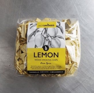 Lemon Wood Chips by Hot Smoked