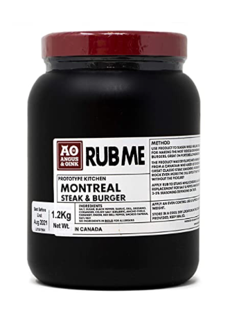 Montreal Steak Burger Seasoning