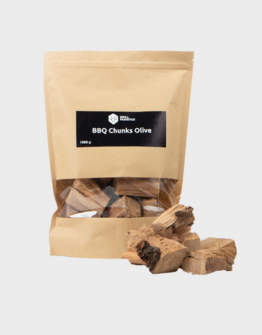 Grill Fanatics Olive Wood Chunks 1kg