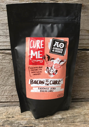 Angus & Oink Jerk Bacon Cure