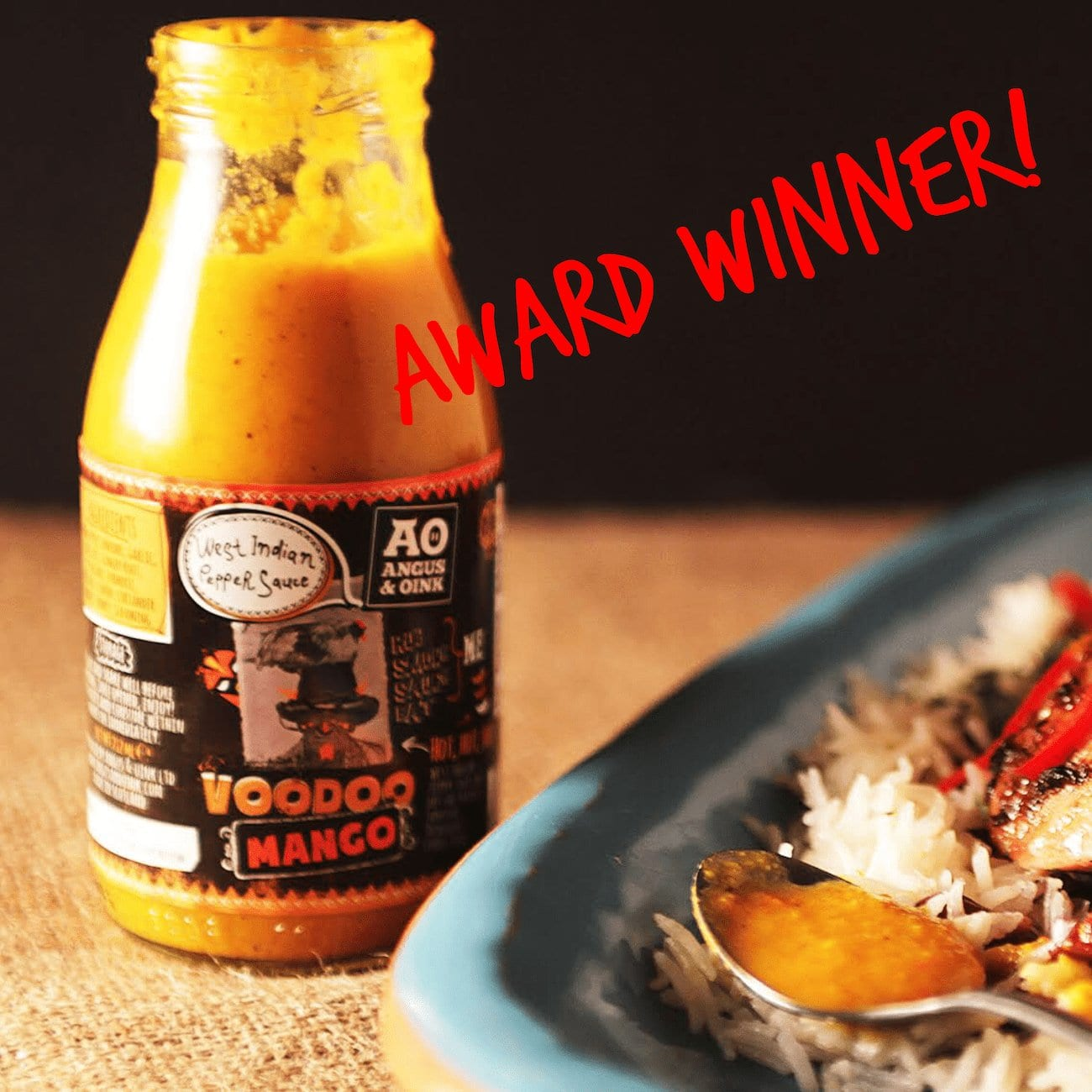Voodoo Mango Great Taste Award
