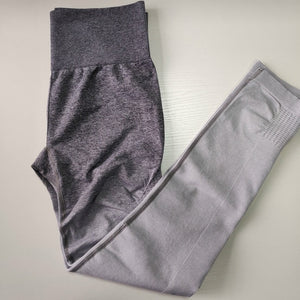 Women  Seamless Leggings In TEAL High