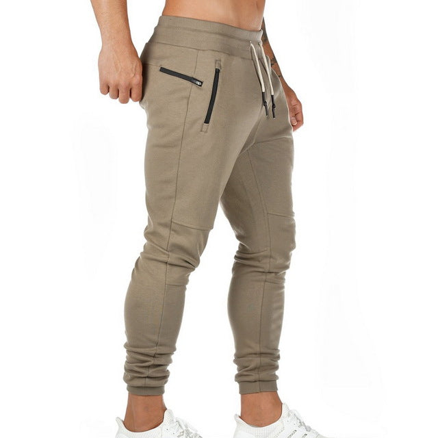 Waist Sports Trousers Gym Joggers Pants