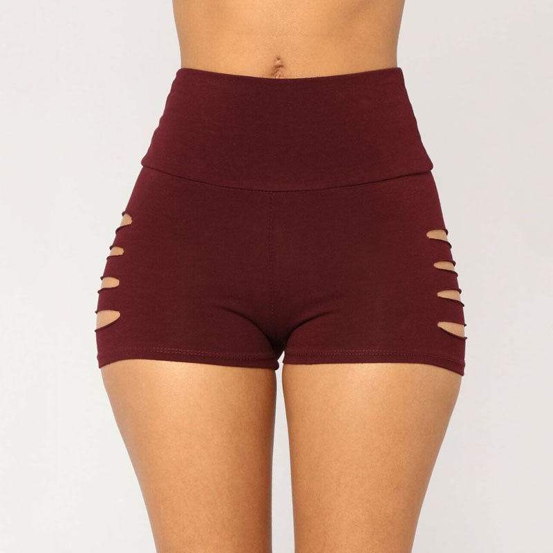 Women Sexy Sports Yoga Shorts