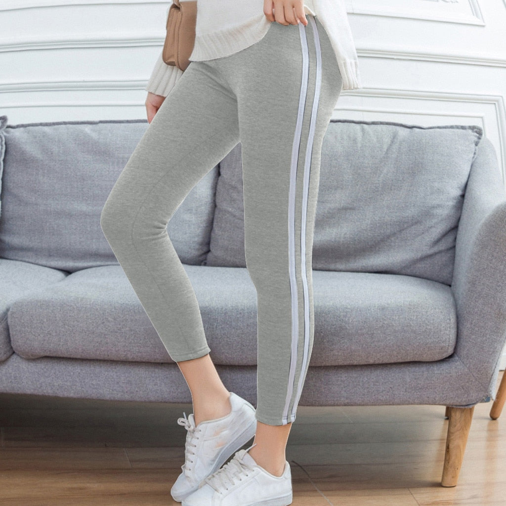 Women Exercise Fitness Running Jogging Pants