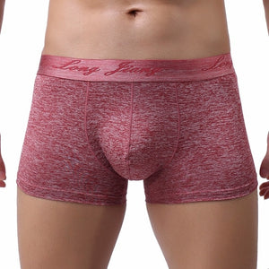 Men Boxer Gym Soft Underwear