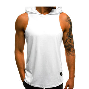 Sleeveless Muscle Gym  Hoodies Tank Top