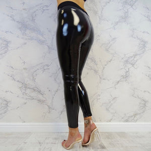 Women Fitness Leggings  Shiny Sport Fitness Pants
