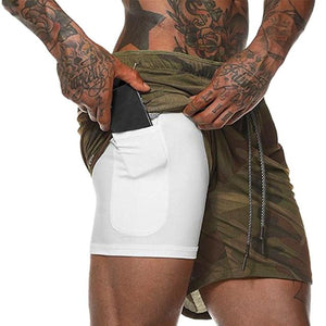 Men Gym Fitness Short Pants