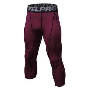 Men Gym Fitness Leggings Pants
