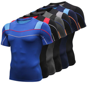 Men Quick Dry Fitness Gym t shirt