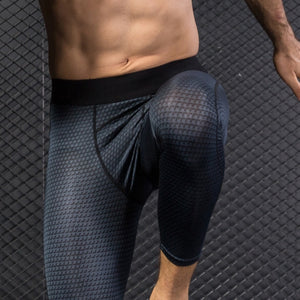 Men Gym Slim Trousers Pants