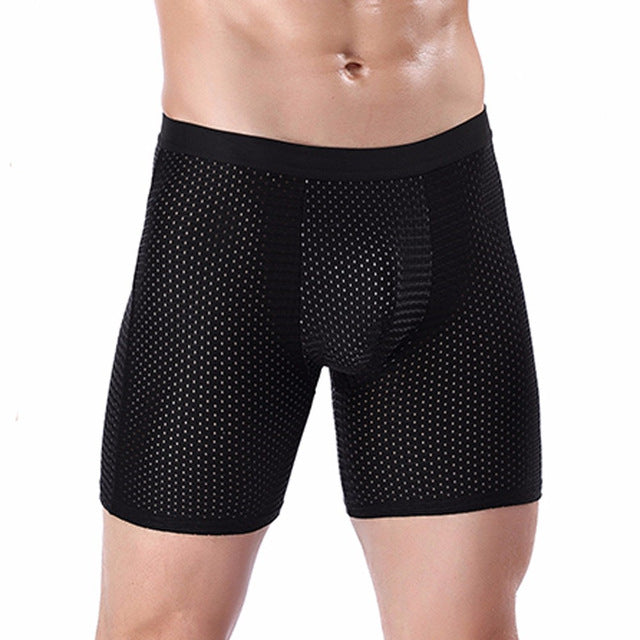 Long Boxer Gym Underwear For Men