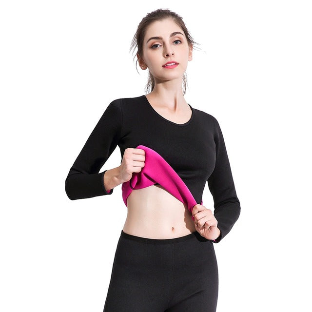 Slimming Sauna Suit Sportswear Body  Tees