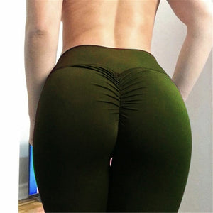 Women High Waist Lift  Hips up  spandex  fitness pants