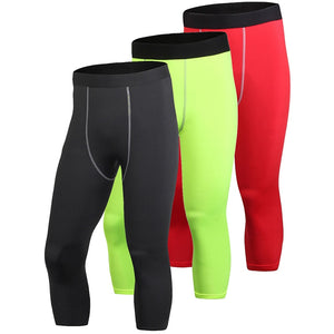 3/4  Quick Dry Leggings  Gym Pants