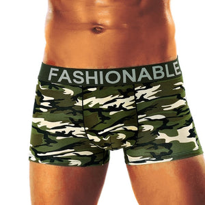 Men Sexy Letter Pure Underwear