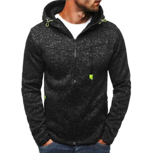 New Hoodies Men Running Jacket