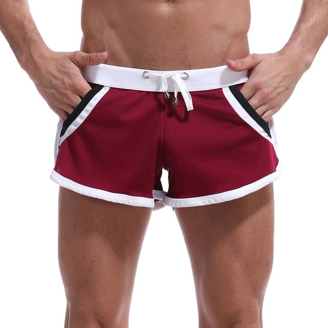 Men Gym Fitness Sweatpants Shorts