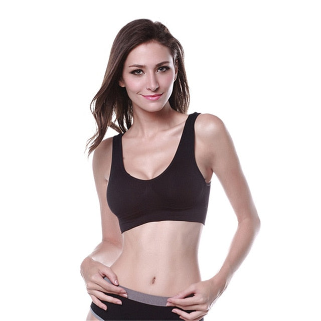 Professional Women Seamless Fitness Sports Bra