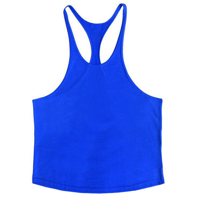 Men Gym Muscle Sleeveless Top