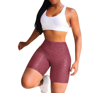 Workout Slim Tights Push Up Gym Athletic Shorts