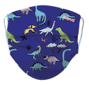 Kids Dinosaur Reusable/ Washable Face Mask - RezwearUSA