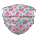 Kids Mermaid Reusable/ Washable Face Mask - RezwearUSA