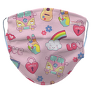 Kids Peace, Love, & Music  Reusable/ Washable Face Mask - RezwearUSA