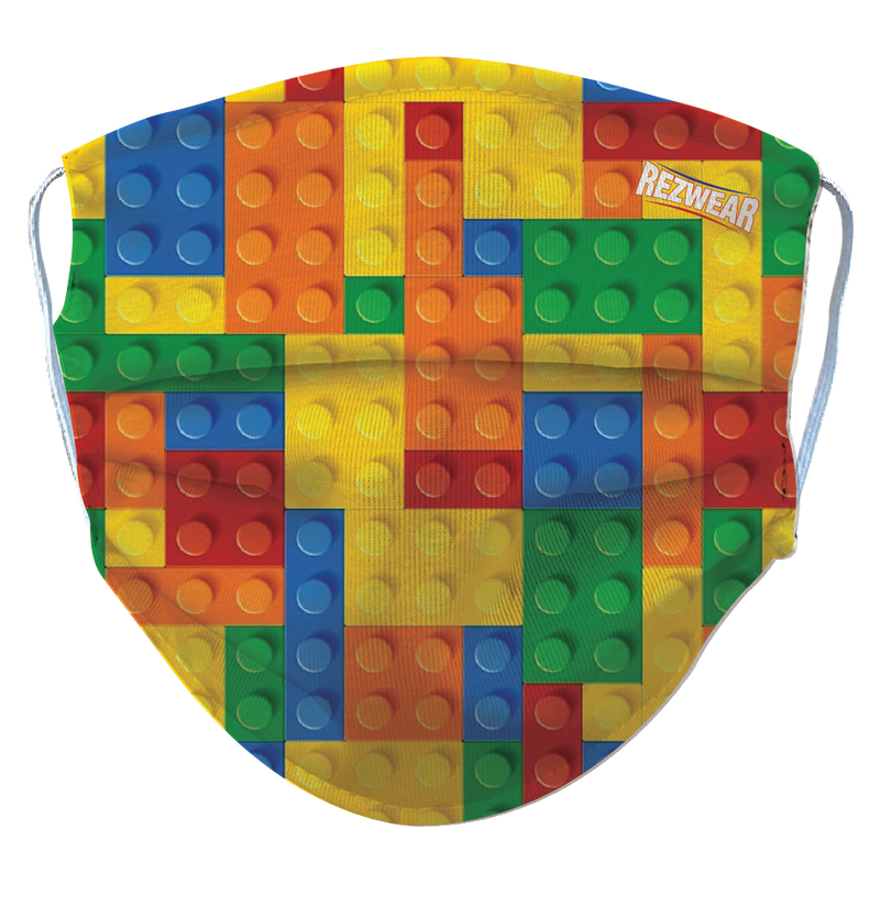 Kids Lego Reusable/ Washable Face Mask - RezwearUSA