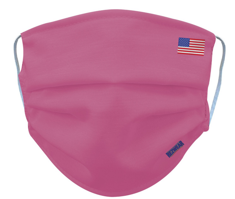 Pink Reusable/ Washable Face Mask - RezwearUSA