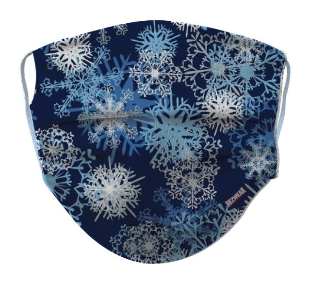 Snowflake Reusable/ Washable Face Mask - RezwearUSA