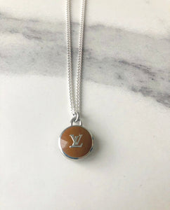 Louis Vuitton Brown Pendant