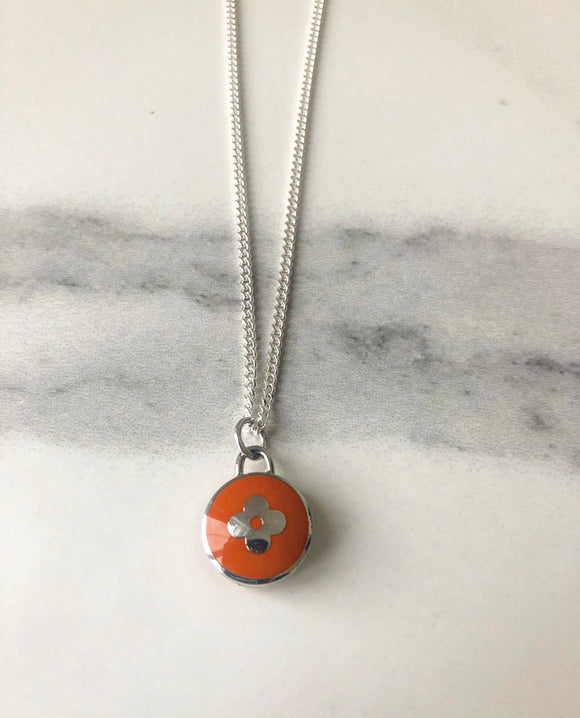 Louis Vuitton Orange Pendant