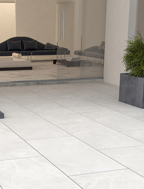 Cream & Beige & White Porcelain Paving | Tiles and Smiles