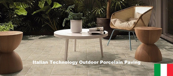 Italian technology outdoor orcelain paving slab