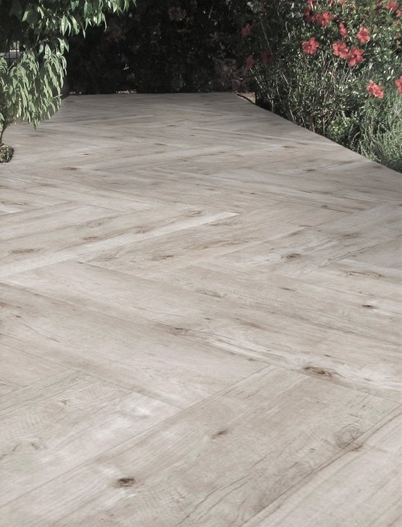 Dream Natural Wood Effect Outdoor Porcelain Paving Slabs - 1200x300 mm (4913349886030)