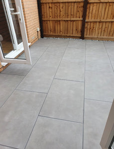 River Grey Outdoor Porcelain Paving Slabs - 900x600 mm (4332470042702)