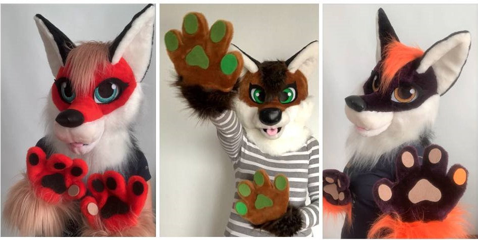 Fox fursuit kids Oneandonlycostumes
