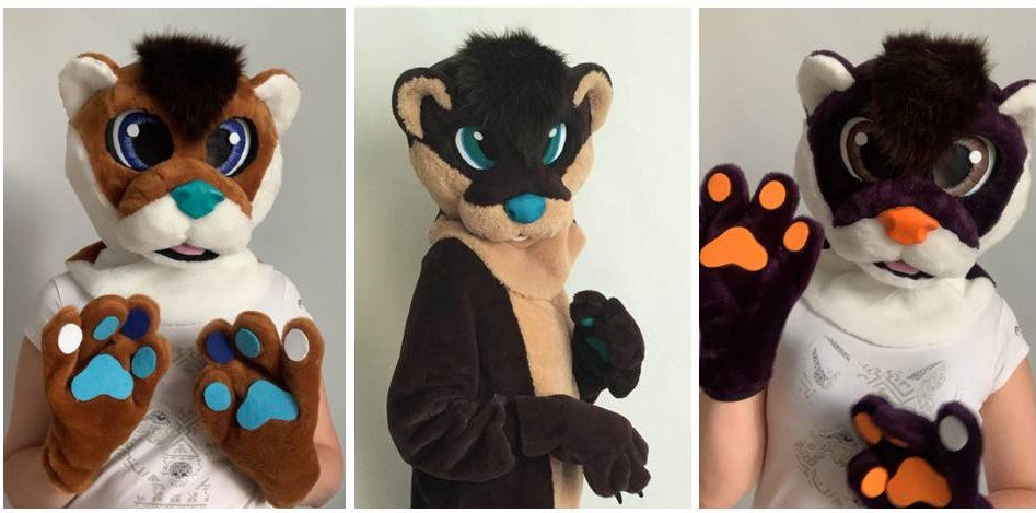 Otter fursuit Oneandonlycostumes