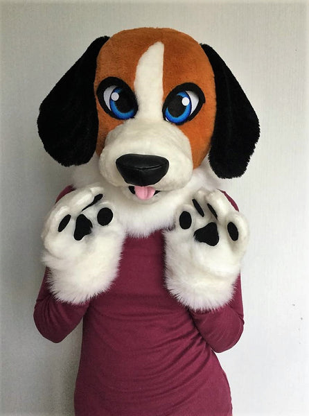 Beagle fursuit Oneandonlycostumes