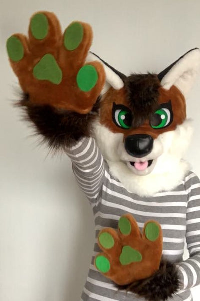 Fox fursuit for kids by Oneandonlycostumes
