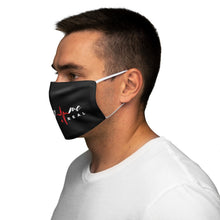 Load image into Gallery viewer, FM4R Black Snug-Fit Polyester Face Mask